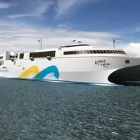 Hi-speed Ferry 'Francisco': Photo credit Incat Tasmania