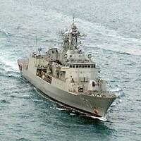 HMAS Anzac: Credit USN