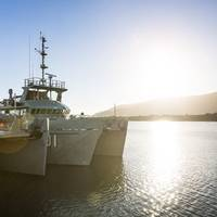 HMAS Mermaid, one of four Paluma class vessels, recently completed an intensive five and a half week training program in North Queensland waters in company with her sister ship HMAS Paluma. Photo:  Royal Australian Navy