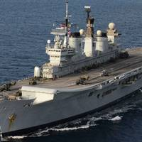 HMS Illustrious (Photo: U.K. Royal Navy)