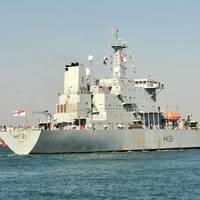 HMS Scott: Photo credit MOD