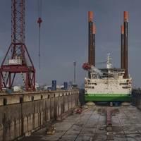 Thor undertakes refurbishment Photo Damen Shipyards Dunkerque
