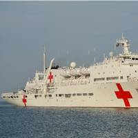 Hospital Ship 'Peace Ark': Photo credit Wiki CCL