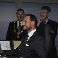 HRH Crown Prince Haakon of Norway: Photo credit Rolls-Royce