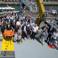 HST's naming ceremony for FCS 2710. Photo: Damen Shipyards Group