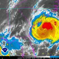 Hurricane Arhur approaches the U.S. coastline (Source: NOAA)