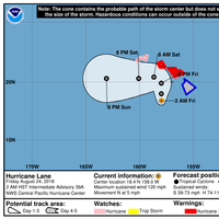 Hurricane Lane (Photo: NOAA)