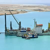 HUTA 14 self-propelled cutter suction dredger at work (Photo: Royal IHC)