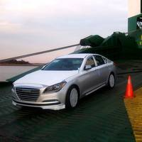 Hyundai Genesis  (Photo by International Auto Processing)