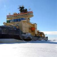 Icebreaker Oden: Photo credit SWEDARCTIC