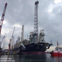 Illustration; Golar and B&V collaborated on the Hilli Episeyo FLNG project - Image credit:En Eeh Wan/MarineTraffic.com
