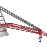 illustration of the 5,000mt Allseas Tub Crane