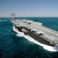 Illustration of the aircraft carrier John F. Kennedy (CVN 79). (Image: Huntington Ingalls Industries)