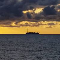 Illustration only; An FPSO offshore Brazil - Credit: Ranimir/AdobeStock - The image has been cropped