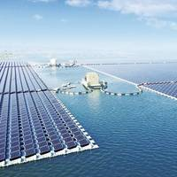 Image: 40MW Floating PV Power Plant by Sungrow Power Supply Co., Ltd