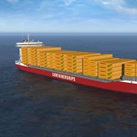 Image: Containerships