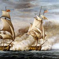 Image from History of the Navy of the United States by J. Fenimore Cooper