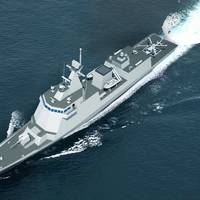Image of to-be-built 2,600ton Frigate for the Philippine Navy (Image: HHI)