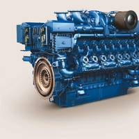 In 2018 Rolls-Royce will deliver the first certified MTU gas engines for commercial marine applications. (Image: MTU)
