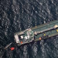 In March fuel tanker Aris 13 was attacked by armed pirates off the coast of Somalia (Photo: EU NAVFOR)