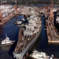 Ingalls Shipbuilding East Bank Photo HII