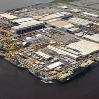Ingalls Shipbuilding yard in Pascagoula, Miss. (File photo: HII)