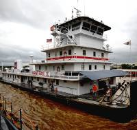 Ingram Barge vessel Henry B (Photo courtesy USACE)