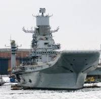 INS Vikramaditya: Photo credit Russian Navy