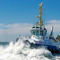 Iskes tug Ginger (Photo: Iskes Towage and Salvage)