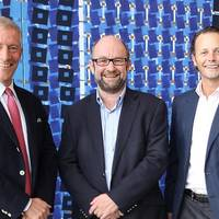 Jan Eyvin Wang, senior vice president industrial investments in Wilhelmsen and new chair of NorSea Group | John Stangeland, CEO of NorSea Group | Thomas Wilhelmsen, group CEO of Wilhelmsen. Photo: Wilh. Wilhelmsen Holding ASA
