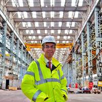 John Eldridge, principal engineer at Cammell Laird (Photo: Cammell Laird)