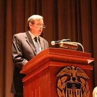 John R. Ballard, Ph.D., USMMA's new Academic Dean and Provost