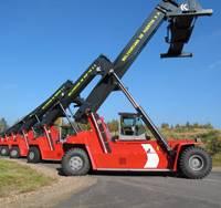 Kalmar DRF100-54 reachstackers