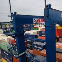 Kalmar has won an order for seven rubber-tyred gantry (RTG) cranes from the Algerian port Photo Kalmar