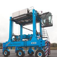 Kalmar straddle carriers Photo APM Terminals Vado