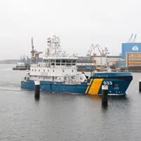 KBV 033 at the Peene Shipyard