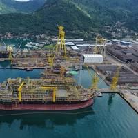 Keppel FELS Brasil. Photo: Keppel Offshore & Marine.