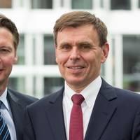 Knut Ørbeck-Nilssen and Tor E. Svensen (Photo: DNV GL)