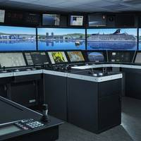 K-Sim Navigation ship's bridge simulators are used by the Panama Canal Authority to ensure maximum realism in training scenarios for building crew and operator sea skills - Credit: Kongsberg Digital