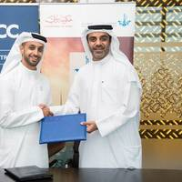L to R: Ahmed Bin Sulayem, Executive Chairman, DMCC and Amer Ali, Executive Director, DMCA.
