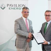 (L to R) Mr Frédéric H. Barnaud, Group CEO of Pavilion Energy and Mr Aitor Moso, CEO of Liberalised Business, Iberdrola. Photo: Pavilion Energy