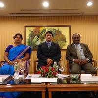 (L to R)MS. RAGINI RANJAN (DIRECTOR, ANAND TEKNOW ENGINEERING), MR. RAKESH RANJAN (MD, ANAND TEKNOW ENGINEERING), MR. S.THIRUVADI (MD, CANBANK VENTURE CAPITAL FUND)