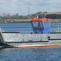 Landing Craft 'Concordia Baby' during sea trials