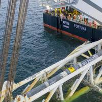 Last Nord Stream 2 pipe lowered into the Baltic Sea - Credit; Nord Stream 2
