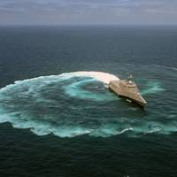 LCS Sea Trial: Image courtesy of USN