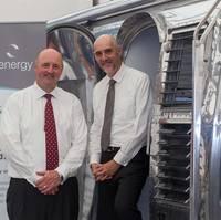 left to right: Senergy group CEO, James McCallum and John Wishart, Energy Director, Lloyd's Register