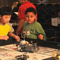 LEGO contestants: (U.S. Navy photo by Nicholas Malay/Released)