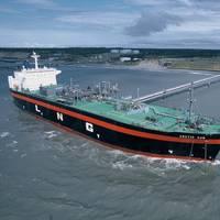 Liquefied Natural Gas Tanker Kenai, Alaska. Photo: ConocoPhillips Company