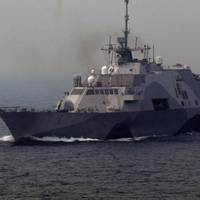 Littoral Combat Ship: Photo courtesy of USN