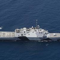 Littoral combat ship USS Freedom (LCS 1). U.S. Navy photo by Tim D. Godbee